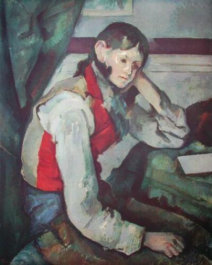 Der Junge mit der roten Weste