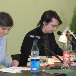 Doris Plöschberger und Clemens J. Setz - Leipziger Buchmesse 2011