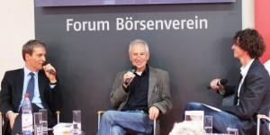 Alexander Fest, Eugen Ruge, Holger Heimann - Frankfurter Buchmesse 2011