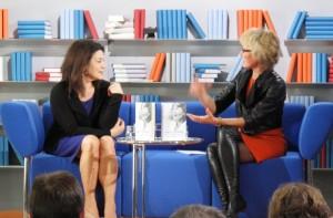Hannelore Elsner und Luzia Braun - Frankfurter Buchmesse 2011