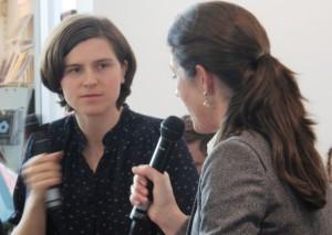 Judith Schalansky u. Felicitas von Lovenberg - Frankfurter Buchmesse 2011