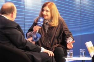 Sibylle Lewitscharoff und Denis Scheck - Frankfurter Buchmesse 2011