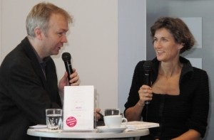 Janne Teller - Frankfurter Buchmesse am 08.10.2010