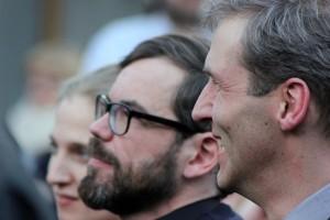 Leipziger Buchmesse 2013 - David Wagner u. Alexander Fest