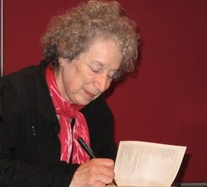 Margaret Atwood - Lesung Literaturhaus München am 19.10.2009