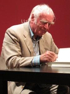 Martin Walser -Lesung im Literaturhaus München am 28.07.2011