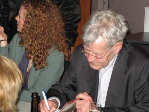 Oswalt Kolle u. Alexa Hennig von Lange am 15.03.2009 - LitCologne