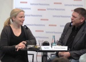 Thea Dorn - Leipziger Buchmesse 2012