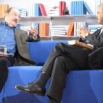 Wolfgang Herles und Umberto Eco - Frankfurter Buchmesse 2011