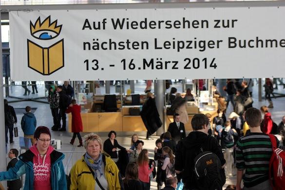 Leipziger Buchmesse 2013_Auf Wiedersehen_1