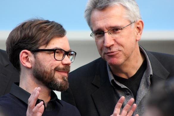 Leipziger Buchmesse 2013_David Wagner und Helmut Böttiger_1