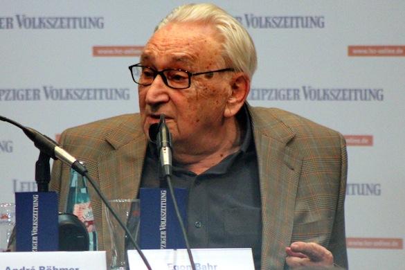 Leipziger Buchmesse 2013_Egon Bahr_2