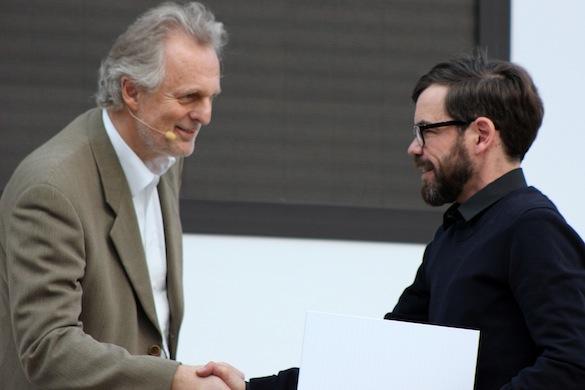 Leipziger Buchmesse 2013_Hubert Winkels und David Wagner_1