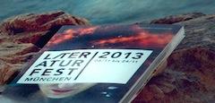 Leselawine: Der erste Satz in Wort und Bild fürs Literaturfest München 2013