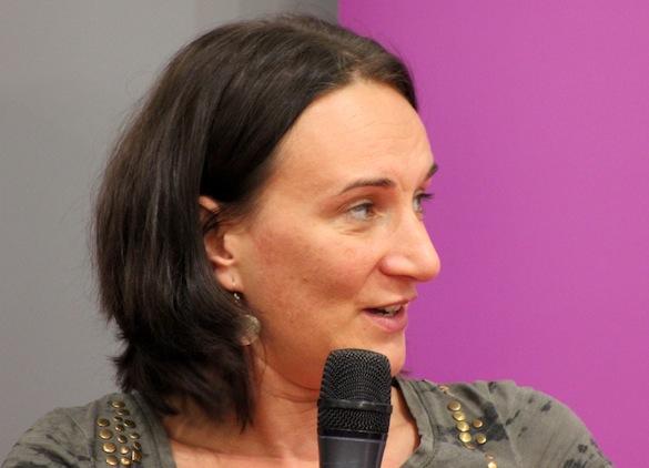 Terézia Mora_Frankfurter Buchmesse 2013