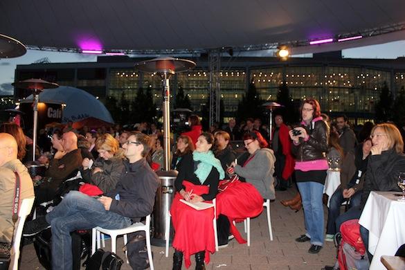 Zuschauer Open Stage