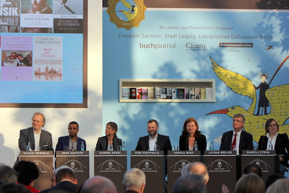 Leipziger Buchmesse 2014_Jury