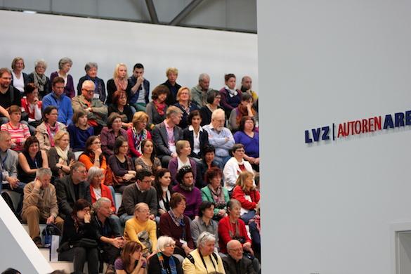 Leipziger Buchmesse 2014_LVZ Autoren Arena