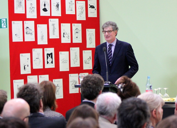 Leipziger Buchmesse 2014_Roger Willemsen