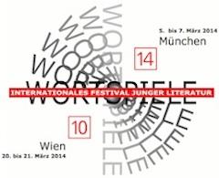 Literaturfestival WORTSPIELE vom 5. bis zum 7. März 2014 im Münchner Club Ampere