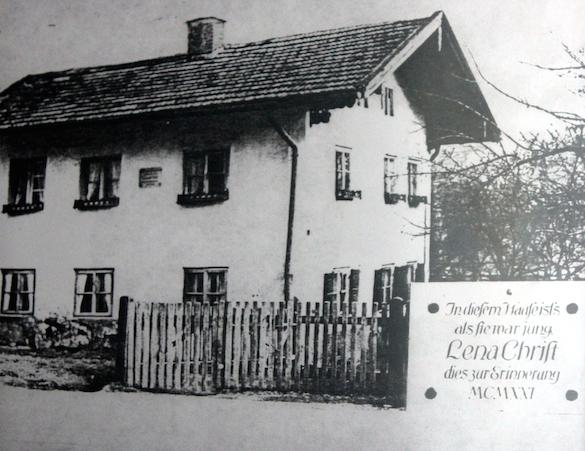 Lena Christ_Geburtshaus