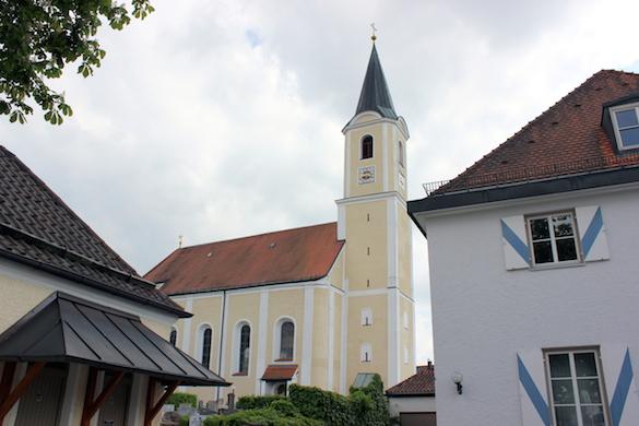 Lena Christ_Katholische Kirche, Glonn