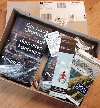 Post von der Leipziger Buchmesse