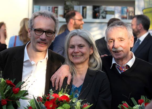 Gewinner Preis der Leipziger Buchmesse 2016: Jürgen Goldstein (Sachbuch), Brigitte Döbert (Übersetzung) Guntram Vesper