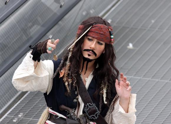 oops.. Jack Sparrow war auch da ;-)