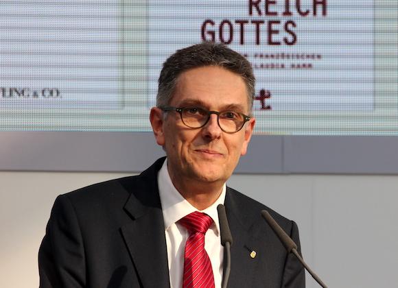 Oliver Zille, Direktor der Leipziger Buchmesse