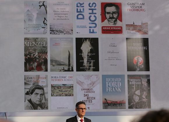 Buchcover der Shortlist Preis der Leipziger Buchmesse 2016